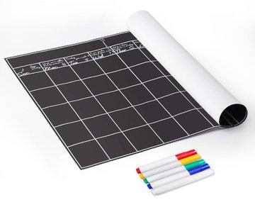OrgaNice Chalkboard Calendar Application Erasable