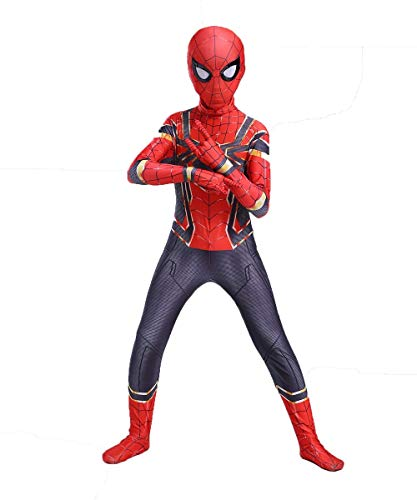 UTUMR The Kids Bodysuit Superhero Costumes Lycra Spandex Halloween Cosplay Costumes (S/110-120cm) Re - http://coolthings.us