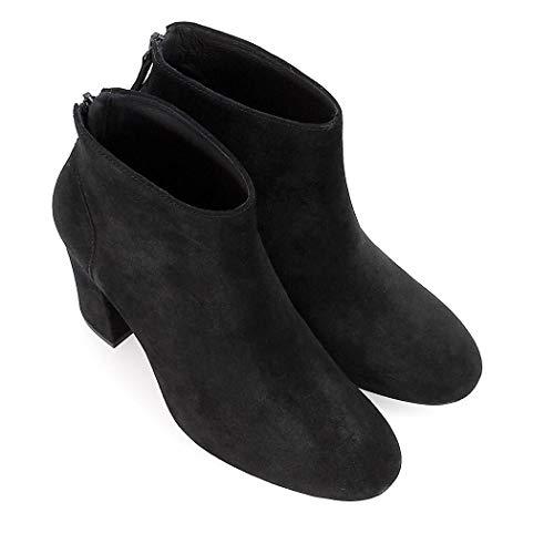 Joy Noir Automne 2019 Suède hiver Femme Ash Bottines Chaussures PvwqO