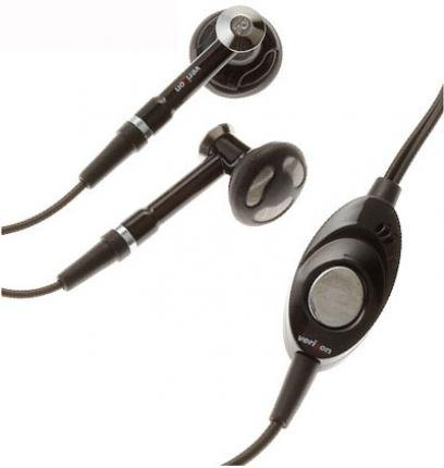 - Headset Handsfree Earphones Dual Earbuds Headphones Microphone Stereo Black for Verizon Casio Exilim C721 - Verizon Casio G-zOne Boulder - Verizon LG Chocolate VX8500
