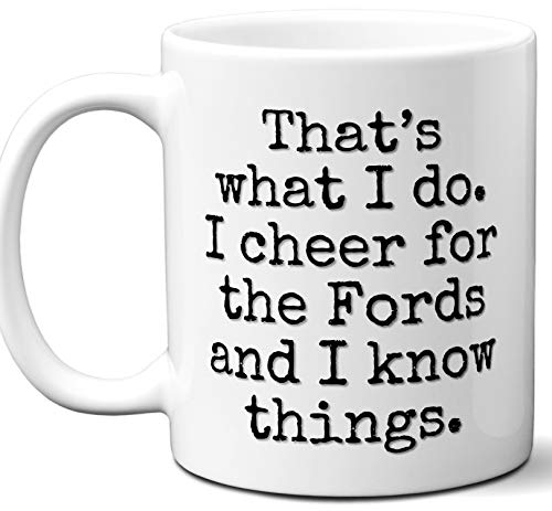 Fords Gifts For Men Women. Cool Unique Funny Gift Idea Fords Coffee Mug For Fans Sports Lovers. Football Hockey Birthday Father's Day Christmas.
