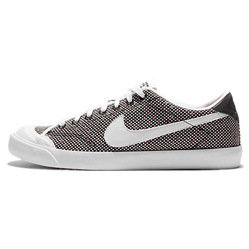 Nike Zoom All Court 2 Low KJCRD Mens Trainers 867117 Sneakers Shoes Black/White-black-action Red