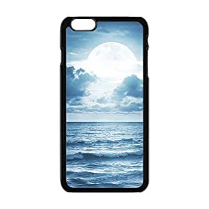 Bright Moon White Phone Case for Iphone6 plus