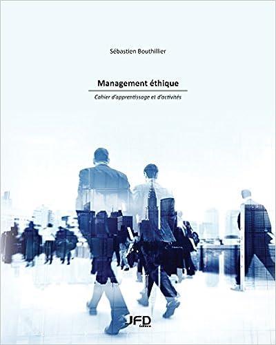 Téléchargements gratuits de livres audio Management éthique : cahier d'apprentissage et d'activités PDF FB2 iBook