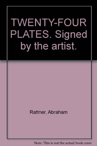 (TWENTY-FOUR PLATES. Signed by the artist.)