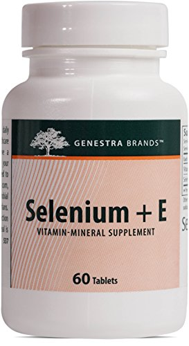 Genestra Brands - Selenium + E - Helps Prevent Cellular Free Radical Damage* - 60 Tablets