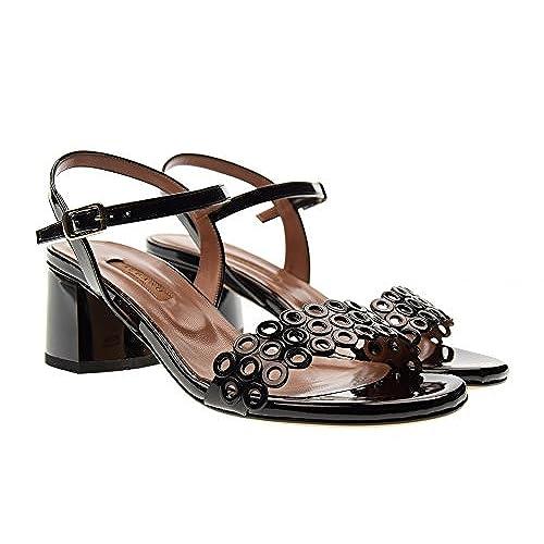 7763a195 Negro Sandalias Mujer Tacón Gratis De Albano Bajo 3118 Envio Zapatos  VjqSzpGLUM