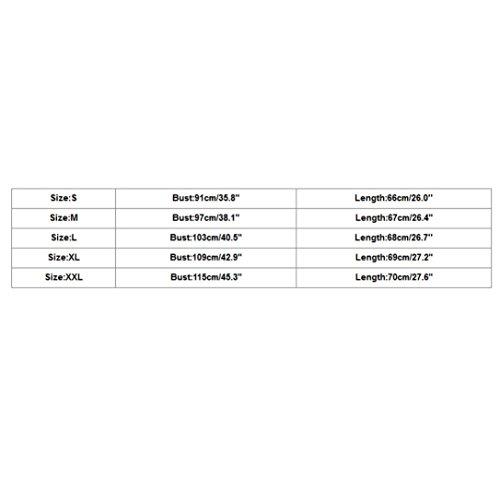 Adeshop Élégant Chemisier Taille Gilet Femmes Couleur Lâche Irrégulier Grande Pure Ouvrir Section Débardeurs Vest Casual Robes Longue À Manches Mode L'arrière Bleu Clair Sling Sans qwrAUHxqO1