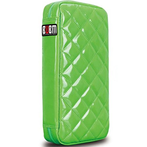 64 Capacity Pu Leather Cover CD / DVD Wallet, Various Colors - Green