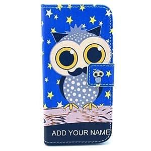 MOFY- cubre estrella bœho patr—n de cuero de la PU con el soporte y la ranura para tarjeta para el iphone 6 m‡s