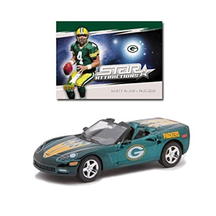 buy popular 55340 45d8c Amazon.com : Upper Deck Collectibles NFL Corvette with Card ...