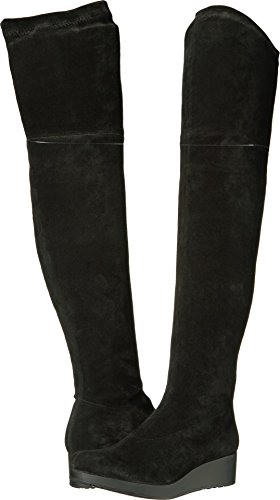 Robert Clergerie Women's Natun Black Suede Stretch 40.5 M EU