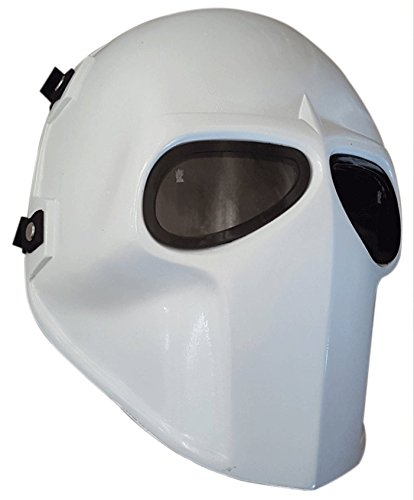Invader King ® Flat White Army of Two Airsoft Mask Protective Gear Outdoor Sport Fancy Party Ghost Masks Bb (Diy Character Costumes)