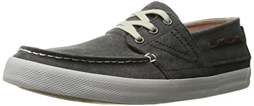 Price comparison product image Tretorn Men's Otto Washed Canvas Fashion Sneaker, Phantom Black Melange, 8.5 M US