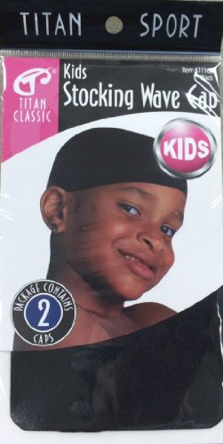 Titan Classic Kids Stocking Wave Cap - Pack of 2