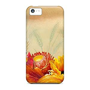 LauraGroff-Y Iphone 5c Well-designed Hard Case Cover Fall Fantastic Protector