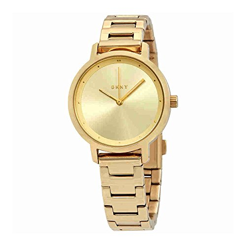 DKNY Women's 'The Modernist' Quartz Stainless Steel Casual Watch, Color Gold-Toned (Model: NY2636)