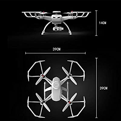 QTT Intelligent Following Drone, Brushless GPS Drone, 4-axis Folding Aircraft, WiFi Map Remote Control Aircraft