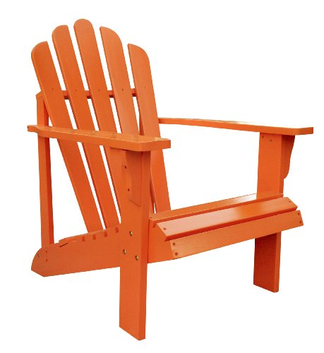 Shine Company Westport Adirondack Chair, Tangerine by Shine Company Inc.