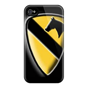 Flexible Tpu Back Case Cover For Iphone 4/4s - 1st Cavalry