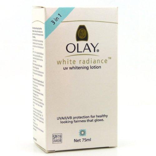- New Olay White Radiance UV Whitening Lotion SPF 19 75ml