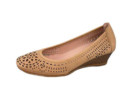 Rebelde - Zapato Vidriera para mujeres AZUL
