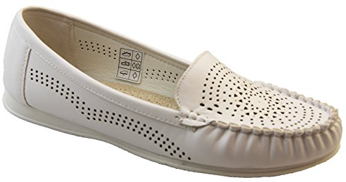 Mujer Coolers Premier Zapatos Blanco