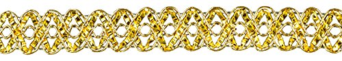 BELAGIO Enterprises 3/4 Metallic Trim Roll Gold
