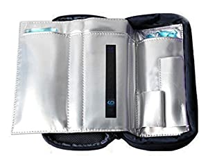 Zowaysoon Travel Cooler Bag for Insulin Medication Insulin Cooling Case Ice Bags