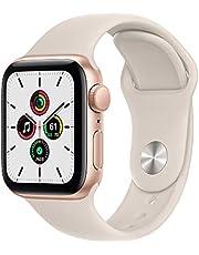 2021 AppleWatchSE (GPS) • 40‐mm kast van goudkleurig aluminium • Sterrenlicht sportbandje- Standaardmaat