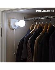 InnovaGoods Przenośna żarówka LED, biała
