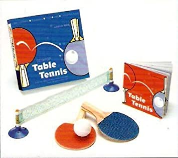 Desktop Table Tennis Mini Portable Set  sc 1 st  Amazon.com & Amazon.com : Desktop Table Tennis Mini Portable Set : Mini Table ...