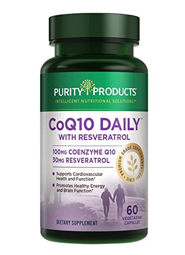 Purity Products - Co-Q Daily with Resveratrol - 60 Veggie Capsules by Purity Products
