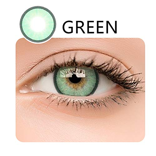 WQFXYZ Women Multi-Color Contact Lenses Cosplay Eyes Cute Charm and Attractive Fashion Eye Accessories Cosmetic Makeup Eye Shadow (17)