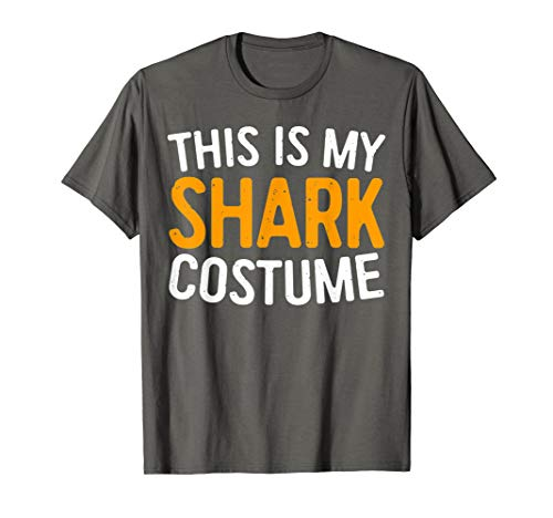 This Is My Shark Costume T-Shirt Halloween Gift Shirt ()