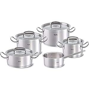 Fissler profi collection bater a de cocina 4 ollas y un for Amazon bateria cocina