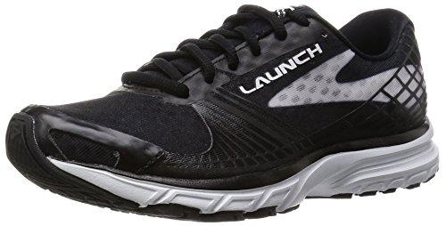 Brooks Women's Launch 3 Running Shoes, Pink Black/White