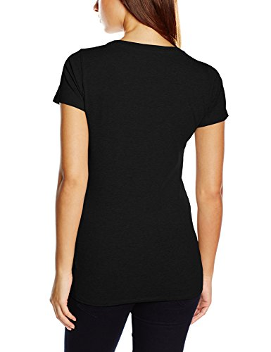 Tommy Hilfiger Cotton Cn Tee Ss Iconic - Camiseta Mujer Black 990