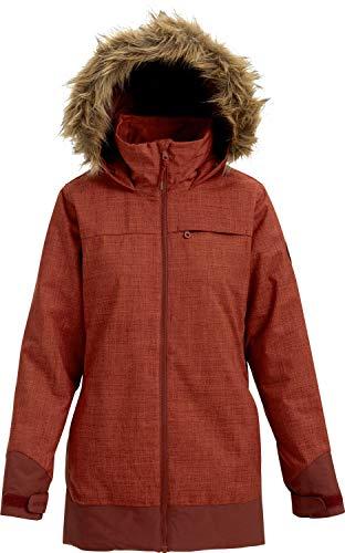 - Burton Women's Lelah Jacket, Sparrow Heather/Sparrow, Medium