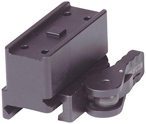 American Defense AD-T1-10 STD Riflescope Optic Mount, Black by American Defense Mfg.