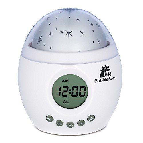Babbleboo Baby Night Light Lamp & Children Bedroom Alarm ...