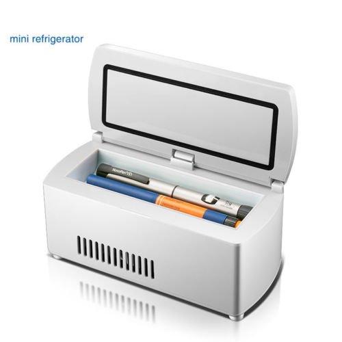 ELEOPTION Insulin Cooler Diabetic Medicine Box with Travel Organizer Cooler Bag for Insulin, Keeps Medication Insulin Cool and Insulated, Cold Storage Temperature 35.6-46.4℉(2-18℃)