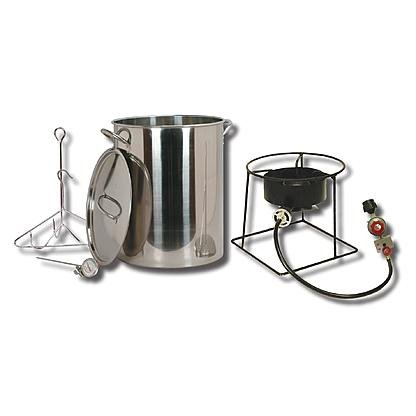 King Kooker Outdoor Turkey Fryer with 29 Qt. Stainless Steel Pot by King Kooker