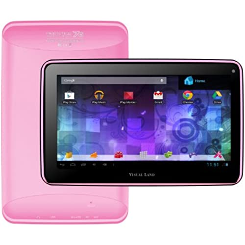 Visual Land Prestige 7G - 7 Single Core 8GB Android Tablet with Google Play (Pink) Coupons