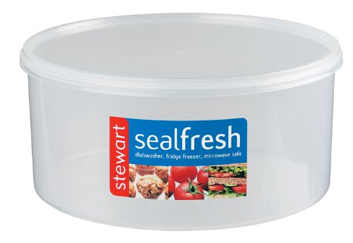 Sealfresh Mediumn Round Cake Storer 5.5l Stewart VBPHUKA246 Food_Storage Microwave