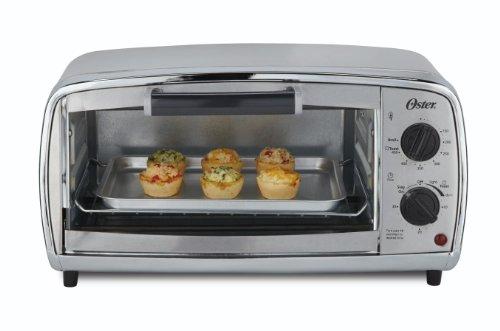 Oster TSSTTVVGS1 4-Slice Toaster Oven Stainless-Steel