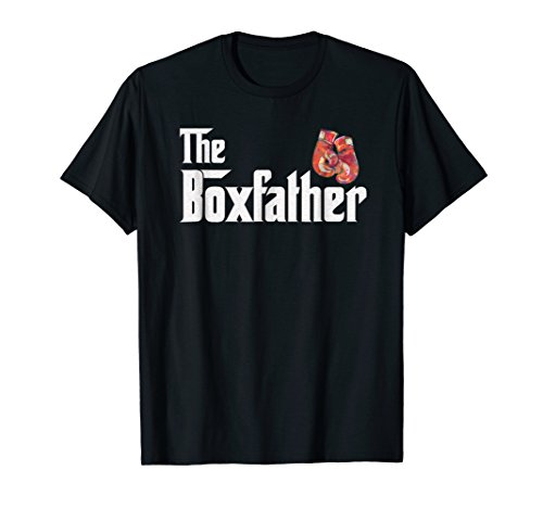 - Boxing gift t-shirt, Fighter Punch strike BoxFather tee