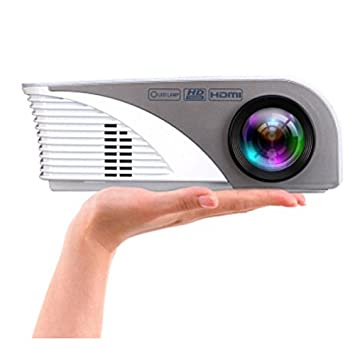Amazon.com: LCD LED projector portable home cinema proyector ...