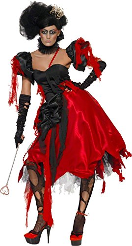 Smiffys Women's Queen Of Hearts Costume (Queen Of Hearts Shoes)