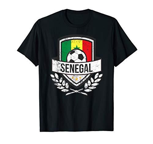 Senegalese Flag Soccer Shirt Senegal Football 2018 - Flag Senegal Colors